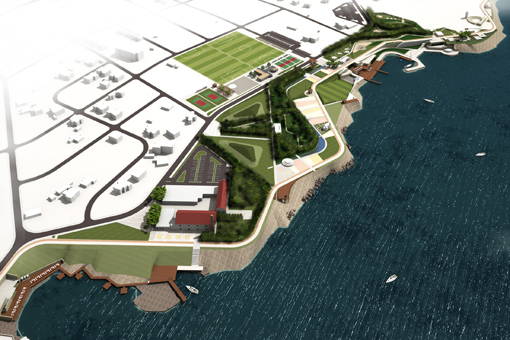 Kyrnea Waterfront Urban Design Project